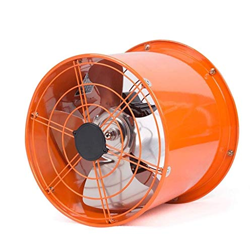 ASYCUI ventilatie extractor 10 inch badkamer keuken ventilatie huishouden vermogen: 100W luchtvolume: 1950m3 / h snelheid: 1400R / min cilinderlengte: 260mm