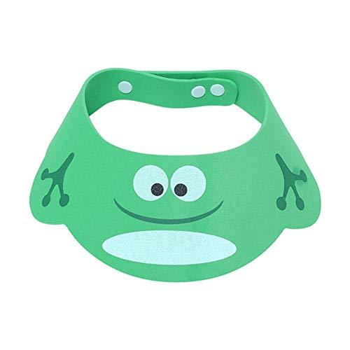 Cuffia da doccia regolabile in silicone per bambini Cappello da lavaggio per bambini Cappello da bagno per shampoo Cappello da bagno morbido per neonati Cappello per capelli lavati per bambini
