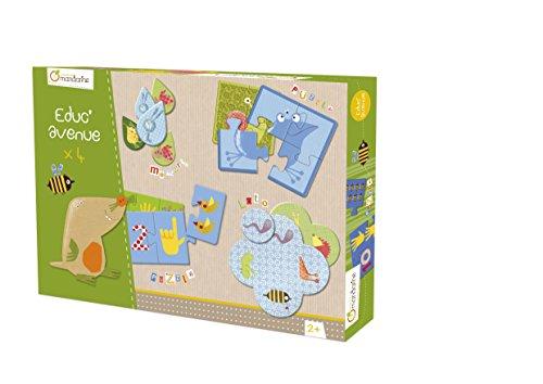 Avenue Mandarine Garden Educational Pack con varios juegos , color/modelo surtido