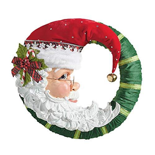 YuanMli Árbol de Navidad escaparate de cristal impermeable pared pegatinas de ventana (H)