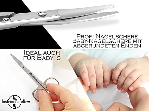 Profi Nagelschere Baby-Nagelschere mit abgerundeten Enden aus Edelstahl - 2