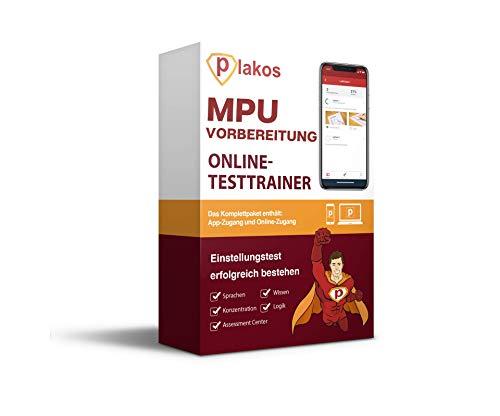 MPU Vorbereitung Online-Testtrainer: Interaktive und authentische Aufgaben & Tests zu Wissen, Konzentration, Logik | Vorbereitung auf die Medizinisch-Psychologische Untersuchung zur Fahrtauglichkeit