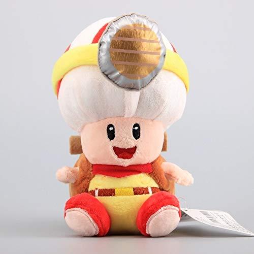 dzj Super Mario Captain Toad Sittng Style Treasure Tracker Juguetes De Peluche Suave Muñeco De Peluche 17 Cm Felpa Niños
