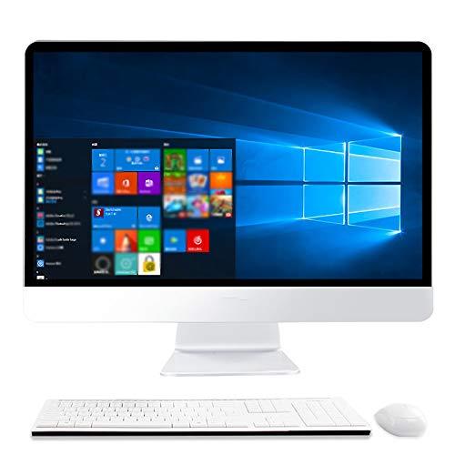 原文 Ordenadores todo en uno, PC para juegos todo en uno G5400, computadora todo en uno de 27 pulgadas, 8 GB de memoria, 240 G SSD, 1920 x 1080, altavoz integrado, cámara y Wifi