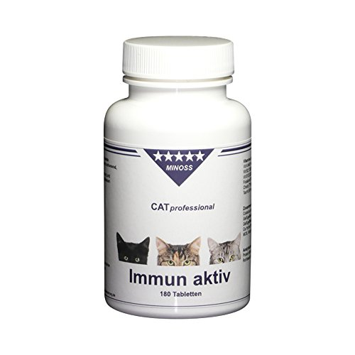 CAT professional Immun aktiv - Naturprodukt mit Colostrum - 180 Tabletten