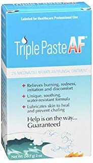 Triple Paste AF Antifungal Nitrate Medicated Ointment 2 oz (Pack of 2)