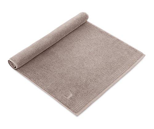 möve Superwuschel Duschvorlage 50 x 70 cm aus 100% Baumwolle, cashmere