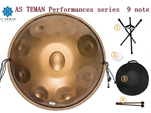 Drums Harmonic Handpan 9 Noten Steel Drum Percussion, 22Inch / 56Cm Chakra Drum, Für Musik Und Klangheilung Religion, Mit Soft Bag