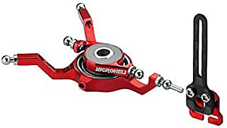 Aluminum Swashplate w/Anti-Rotation Guide, Red: Blade Nano CP X