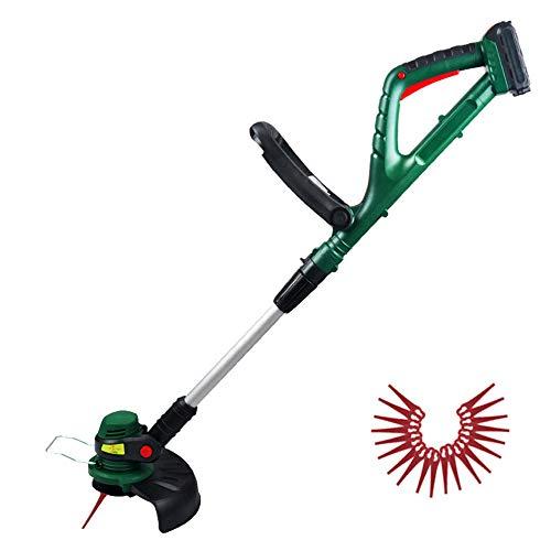 XFQ Hand Held Tosaerba Rotanti, Multifunzione Portatile Grass Trimmer Regolabile Giardino Elettrico Senza Cordone Lawn Mower