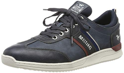 Mustang Lace-up Low Top Hombres Zapatillas Casual