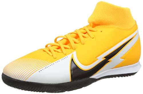 Nike Superfly 7 Academy IC, Football Shoe Unisex Adulto, Laser Orange/Black-White-Laser Orange, 38 EU
