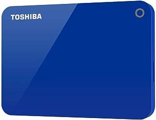 توشيبا - هارد ديسك خارجي محمول كانيفيو ادفانس يو اس بي 3.0، 1 تيرابايت، ازرق - HDTC910EL3AA