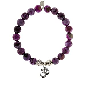 Sugilite Gemstone Beaded Charm Gemstone Bracelet