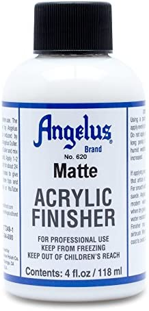 Angelus Brand Acrylic Leather Paint Matte Finisher No. 620 - 4oz
