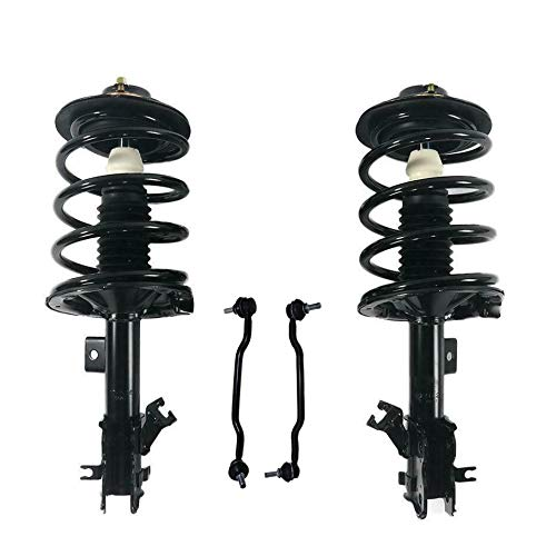 Detroit Axle Complete Front Strut Springs w/Sway Bar Links - 4pc Set [2.5L Models] - 80037-4E