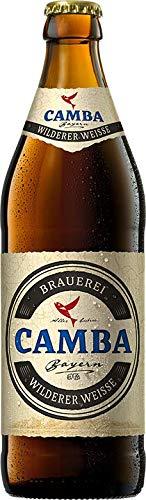 Camba Wilderer Weisse 12 x 0,5 bayerisches bier Dunkles Weissbier