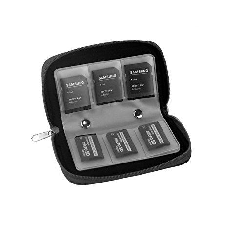 KRS - SD2 Compat Flash Mappe Speicherkarte Schutz Tasche Micro SD SDHC Tasche Case Box Etui Hülle Schutz Box Micro SD SDHC Tasche Case Box Etui Hülle