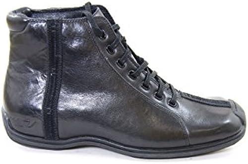 Diesel Diesel Diesel Leather Ankle Stiefel Lager schwarz EU41  Professionelles integriertes Online-Einkaufszentrum
