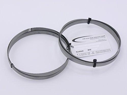 2er SET Sägeband Bi-Metall M42 Abmessung 1435x13x0,65 mm 10/14 ZpZ z.B. für Güde MBS 125 V Bandsägeblatt