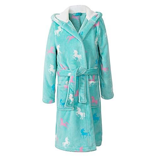 Image of Fleece Unicorn Bathrobe for Girls, Toddlers and Infants