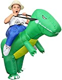 Echden GXZOCK - Costume gonfiabile da Carry-me Huckepack dinosauro, cosplay, per bambini, carnevale,...