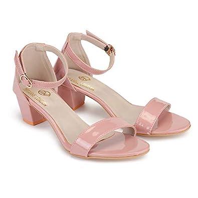 DEEANNE LONDON Woman's Shiny Heel Sandal (DN-86)