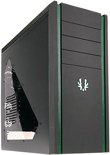 BitFenix Shinobi Midi-Tower PC-Gehäuse (Micro ATX, USB 3.0) schwarz/grün
