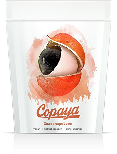 Copaya | Guarana Pulver | Pur & ohne Zusätze (250 GR)