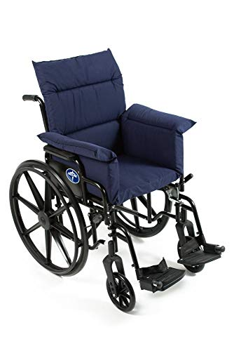 Active Care Comfort Finds Total Chair Cushion - Pressure Reducing Chair Cushion - Pressure Reducing Cushion for Wheelchairs by Comfort Finds (Navy)