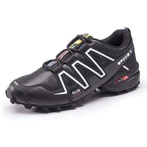 Scarpe da ciclismo da uomo, scarpe da ciclismo su strada, mountain bike, scarpe da corsa, antiscivolo e traspiranti Size: 45 EU