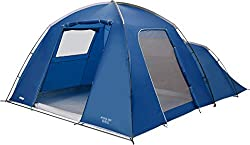 The Vango Athos 500 5 Person Adventure Tent is a simple to pitch dome/tunnel hybrid characterised by Featuring a ProTex shield flysheet, this tent is highly waterproof and lightweight and perfect for Features Specifications: Nightfall bedroom reduces...