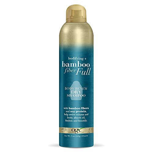 2 best ogx dry shampoo foam bamboo fiber fill for 2021