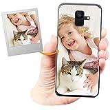 Coverpersonalizzate.it Coque Personnalisable pour Samsung Galaxy A6 2018 avec ta Photo, Image ou...