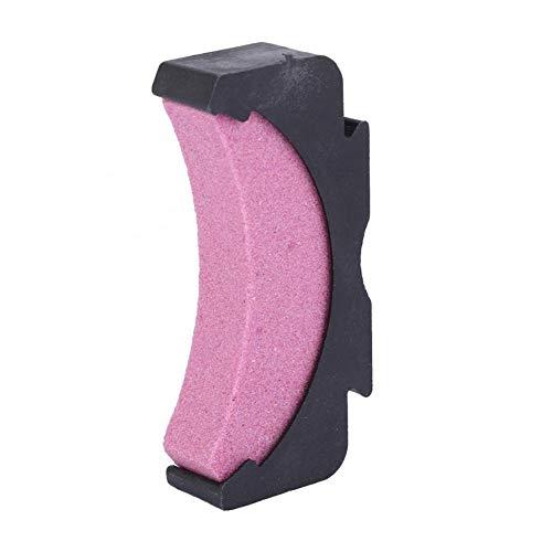 HDHUIXS Habilidad Pulido Whetstone Cadena de Sierra Piedra de afilar Afilador de carpintería Molienda Herramienta de Mano de la Muela Comprensivamente (Color : Pink)