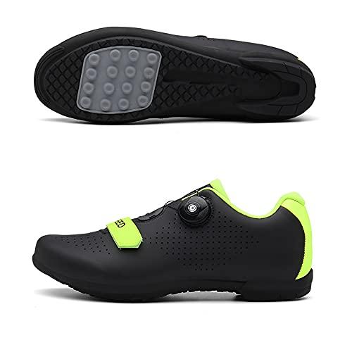 WYUKN Zapatillas de ciclismo...