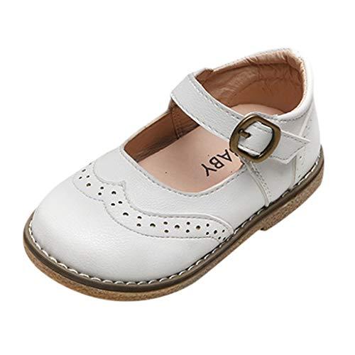 Zapatos para Niñas Niños Colegial Primavera 2020 PAOLIAN Sandalias Niña Verano Fiesta Boda Zapatos de Vestir Bebe Niñas Primeros Pasos Bautizo Baratos Mocasines Suela Suave 1-6 Años