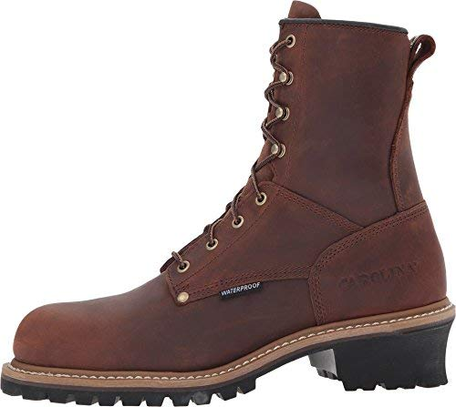 Men's Carolina® 8' Steel Toe Loggers Boot