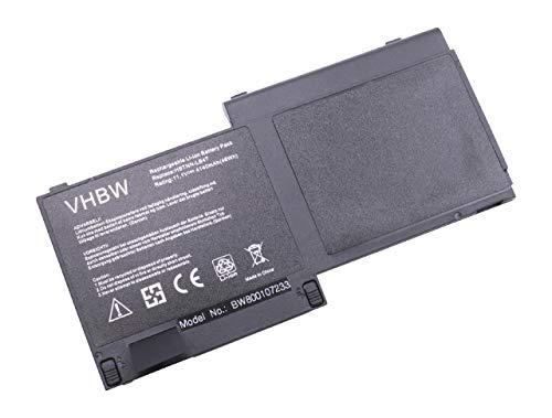 vhbw Batterie Compatible avec HP EliteBook 820 G1, 725 G2, 820 G2, 720 G1(J8X18AA), 720 G1-K6N35US Laptop (4140mAh, 11,1V, Li-ION, Noir)