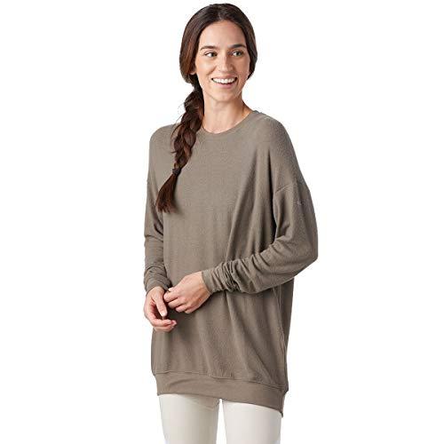 Alo Yoga Soho Pullover - Women's Olive Branch, S