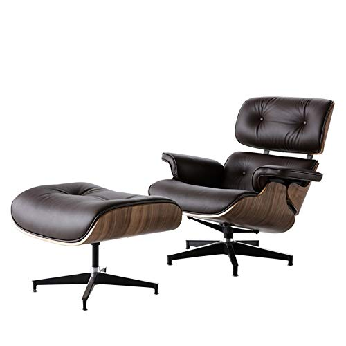 GIAO Lounge Chair With Ottoman Ergonomic Chair Offers Stability Enough To Support 330lbs Side Chair, Home Office Furniture Chair