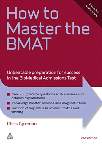 How To Master The Bmat Unbeatable Preparation For Success In The Biomedical Admissions Test Elite Students Series