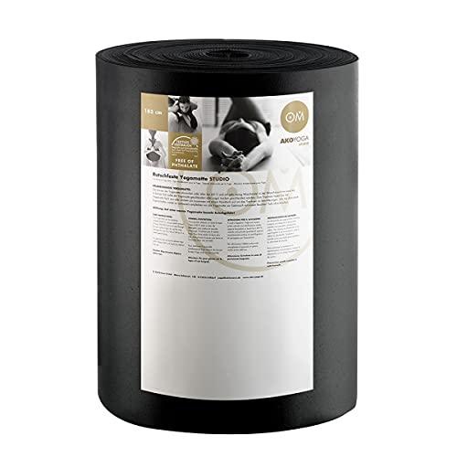 Rollo de Big Premium 30 M x 80 cm x 0.45 cm, ruedas de 30 M x 80 cm x 0 Producto, 45 cm lavable a máquina hasta 60° C Material: PVC Negro negro Talla:talla única