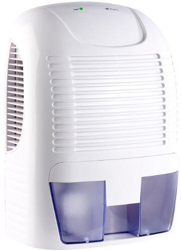 Sichler Haushaltsgeräte Mini Luftentfeuchter: Effektiver Luftentfeuchter, max. 500 ml proTag, für Räume bis 20 m² (Elektrischer Luftentfeuchter)