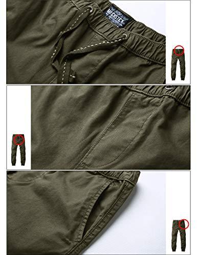 Match Men's Chino Jogger Pant #6535(32,6535 R-green) 30 US