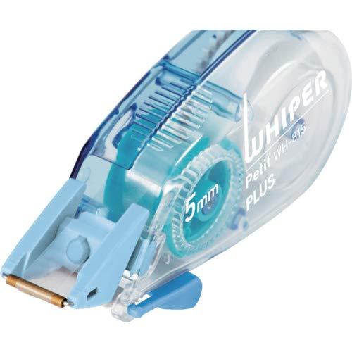 プラス修正テープホワイパープチ5mmWH-815-3Pブルー3個パック49-245
