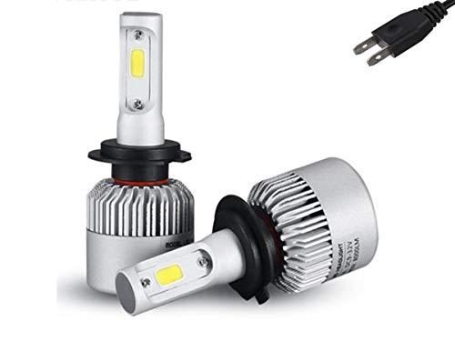 Kit de Focos LED Medida H7 8000 Lumens con ventilador Para Faros Principales (H7)