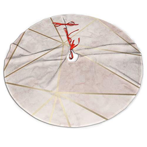 Zara Shimmer - Falda para árbol de Navidad (91,4 cm)