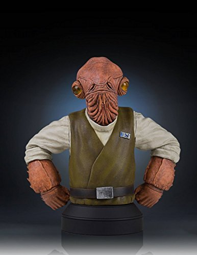 Star Wars Admiral Ackbar Collectible Mini Bust - 2016 Premier Guild Exclusive image