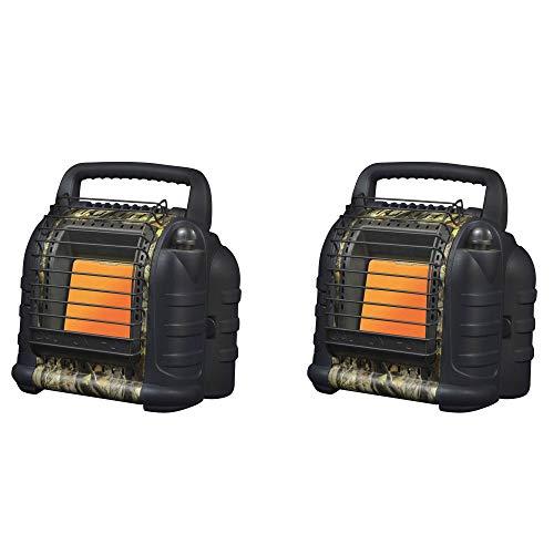 Mr. Heater MH12B 12000 BTU Hunting Buddy Portable Propane Heater, Camo (2 Pack)
